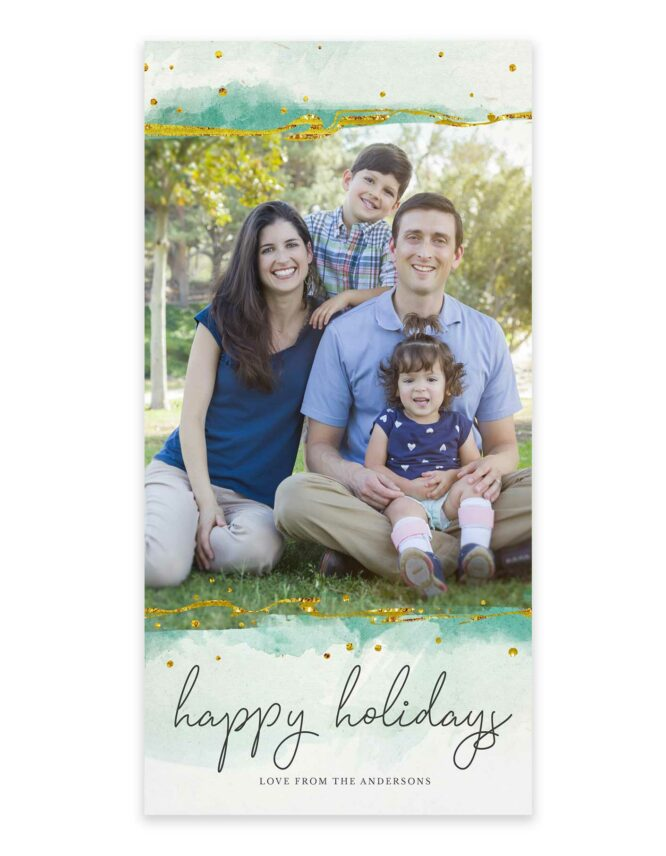 classic watercolor greeting cards