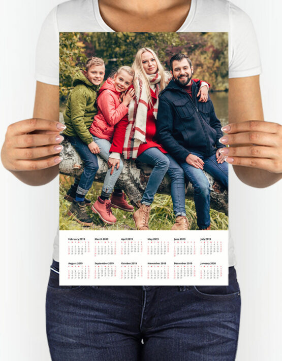 Custom Photo Calendar Prints by GoodPrints