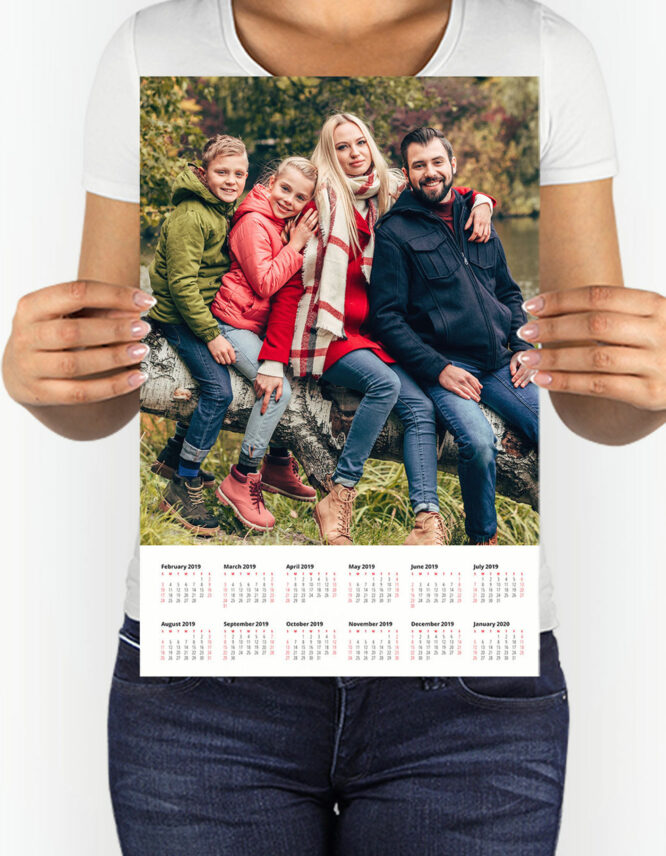 Custom Photo Calendar Prints by GoodPrints