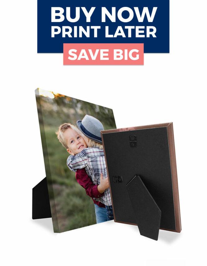 Easel Canvas Print Voucher Deal