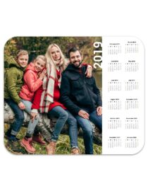 custom designed photo mouse pad calendar