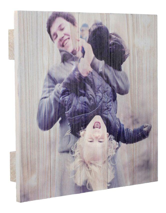 custom wood panel photo print