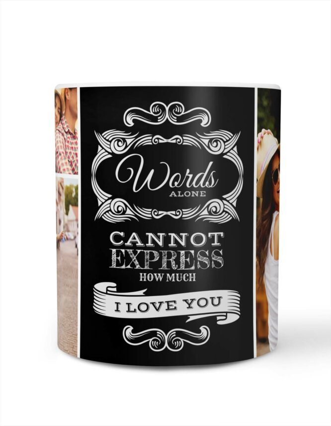 express your love custom valentines mug