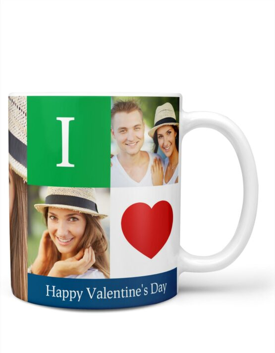 """I Love You"" Valentine's Day Photo Mug 3"