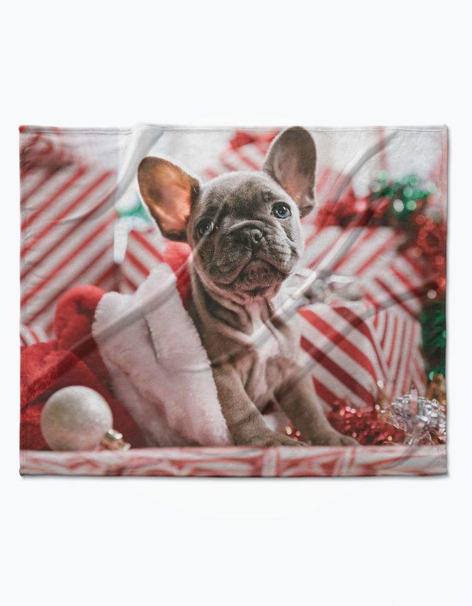 Personalized Plush Fleece Blanket fro Goodprints