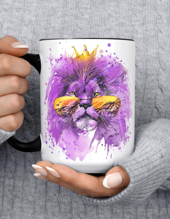 15oz Custom Black Photo Mug