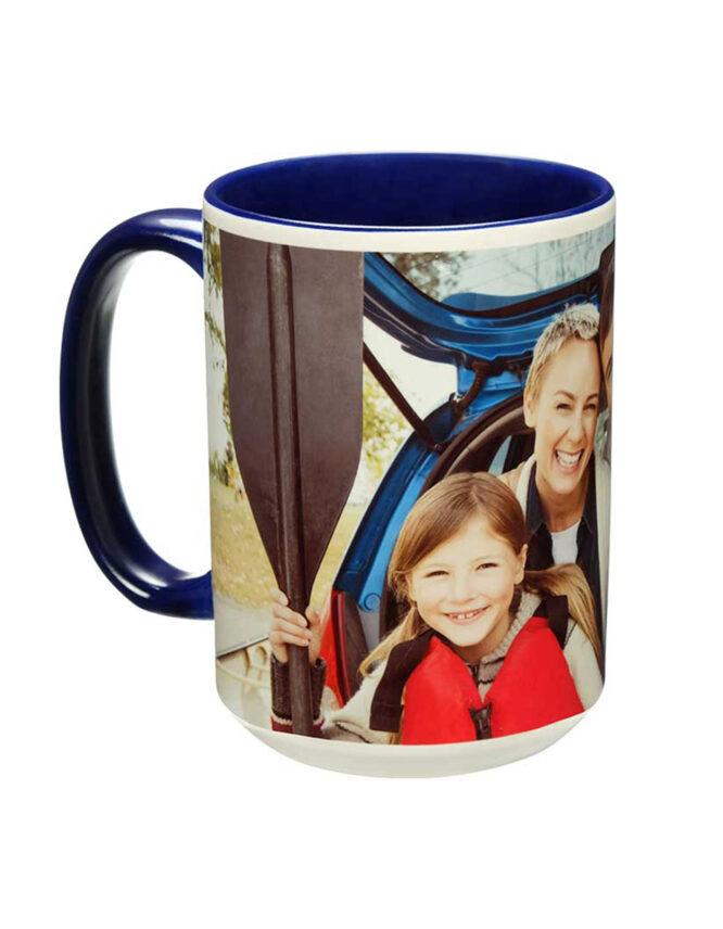 15oz Custom Family Photo Mug