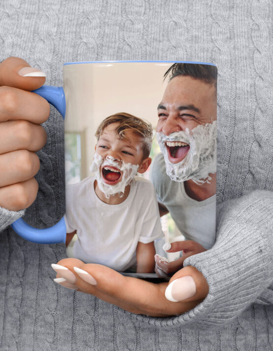 15oz Custom Photo Mug by GoodPrints