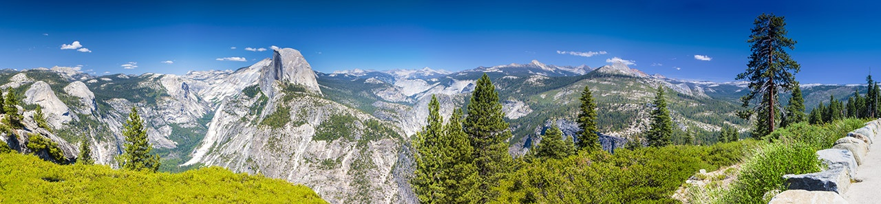 mountain range landscape panoramic