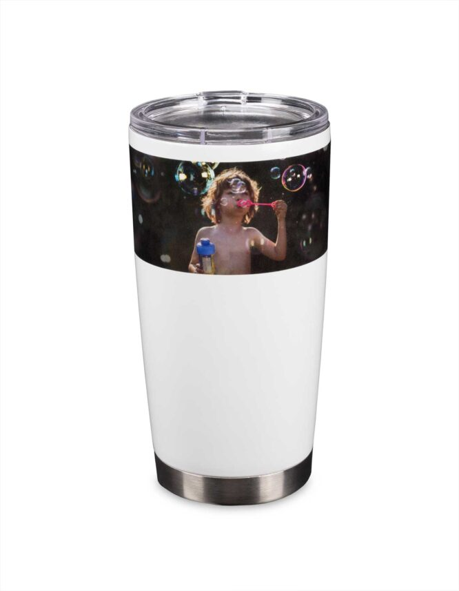custom travel mug with photo print