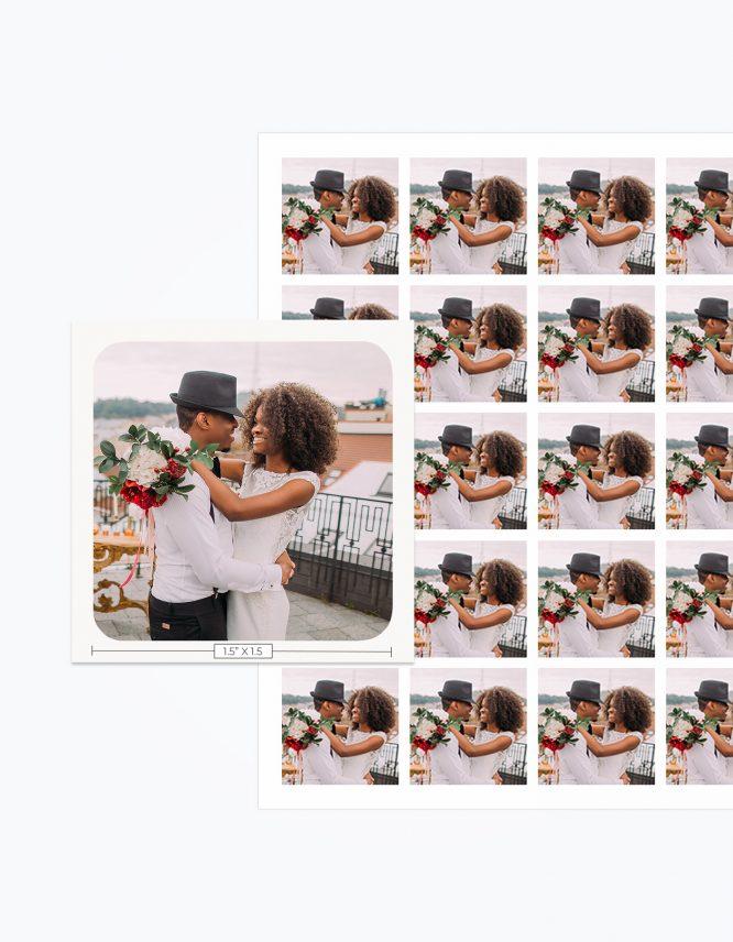 Custom Photo Sticker Sheet 5