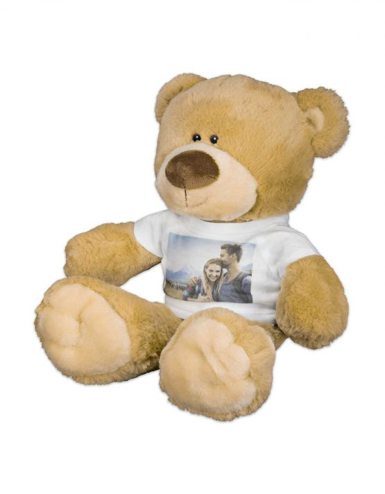 Premium Teddy Bear with Photo T-Shirt