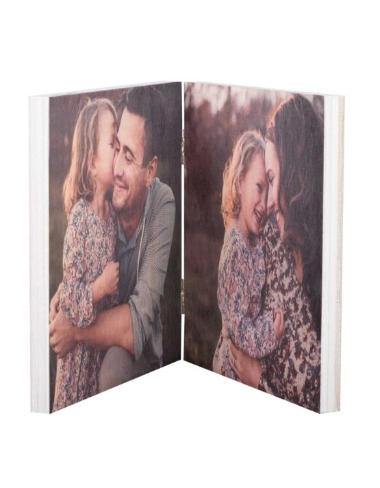 Folded Wood Photo Display from goodprints