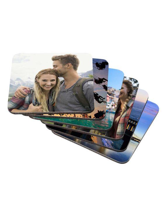 Premium Photo Coasters Sets 2