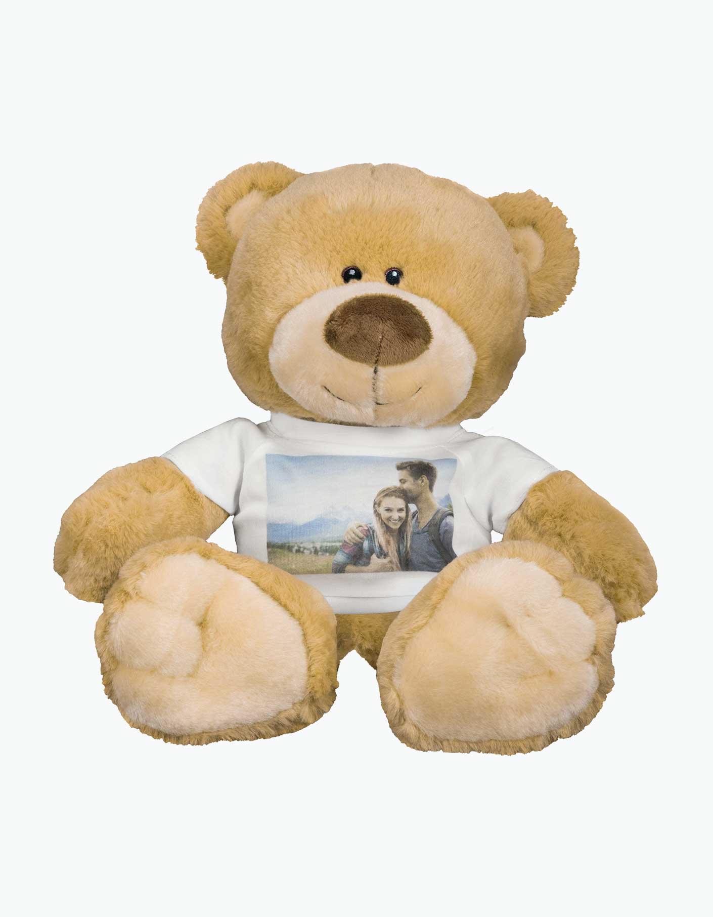 Custom Photo Teddy Bear