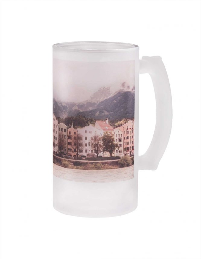 Personalized 16 oz Frosted Beer Stein from Goodprints