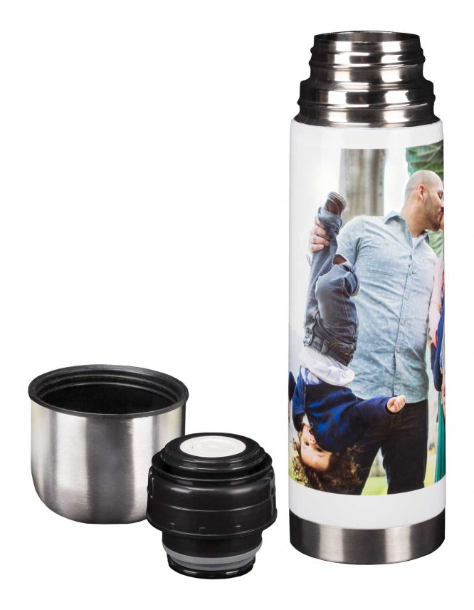 custom made photo thermos