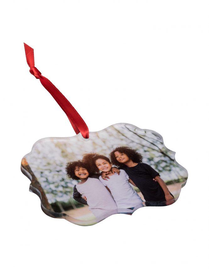 Acrylic Custom Photo Ornament