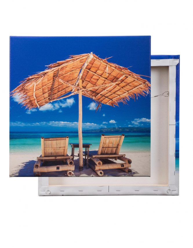 Giclee Canvas Prints with a beach scene from GoodPrints.com