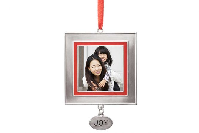 Joy Charm - Custom Photo Ornament 1