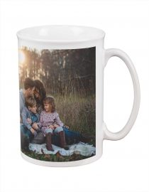 large custom photo bistro mug